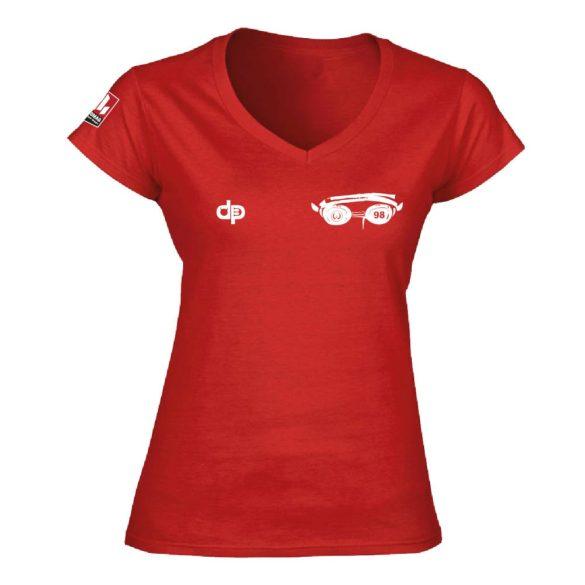 WASPO 98-Damen T-shirt-rot