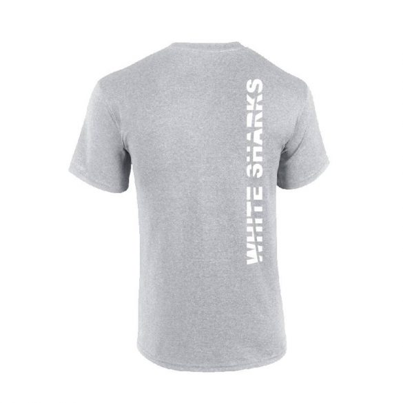 White Sharks-Herren T-shirt-grau