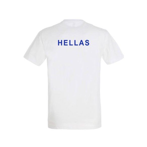 Griechische Wasserball Nationalmannschaft-T-Shirt-weiss