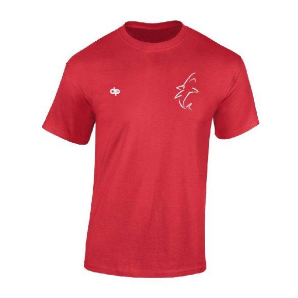 White Sharks-Herren T-shirt-rot