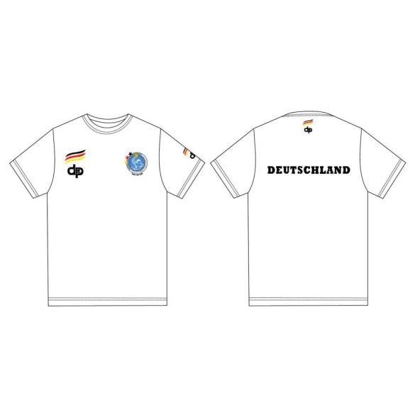 Deutsche Herren Wasserball Nationalmannschaft-T-shirt-weiss