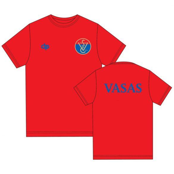 Vasas-Poloshirt-rot