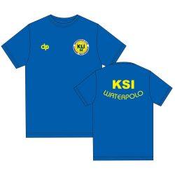 KSI kék környakú póló