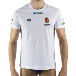Ungarische Wasserball-Nationalmannschaft - Herren T-Shirt weiss