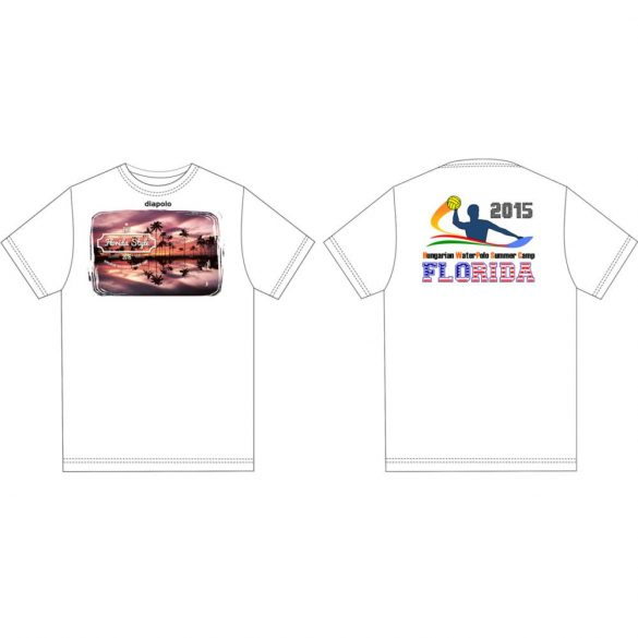 Herren T-shirt-DiapoloMania Florida palms HWPSC