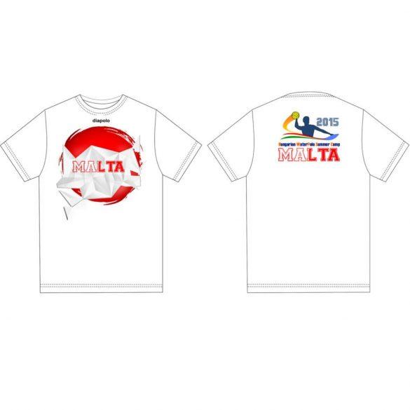 Herren T-shirt-DiapoloMania Malta crystal HWPSC