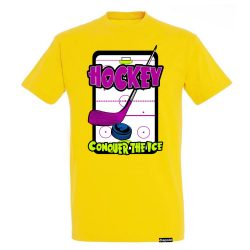 Herren T-Shirt-Court Hockey