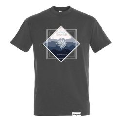 Herren T-shirt-Mountain