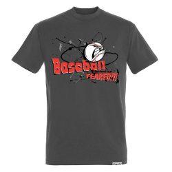 Herren T-shirt - Angry Baseball