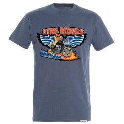 Herren T-Shirt-Fire Riders