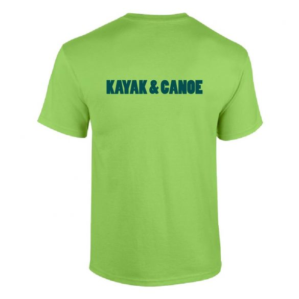 Herren T-shirt-Kayak and Canoe 1-grün
