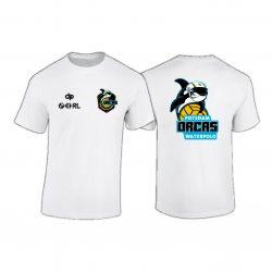ORCAS-T-shirt Super Premium-weiss