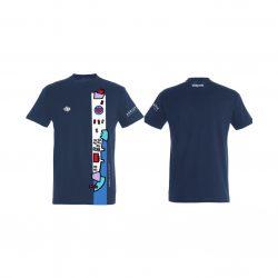 "Jug Dubrovnik-""Premium"" Unisex T-Shirt-navy blau"