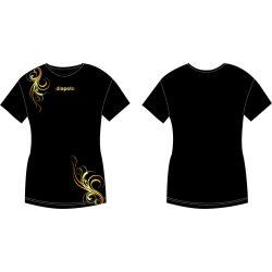 Damen T-shirt-Kovács Ági Floral Gold 2