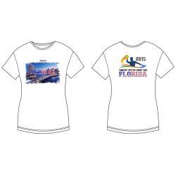 Damen T-shirt - DiapoloMania Florida City HWPSC