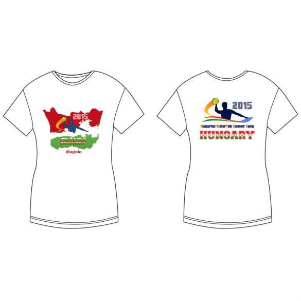 Damen T-shirt-DiapoloMania HUN flag HWPSC