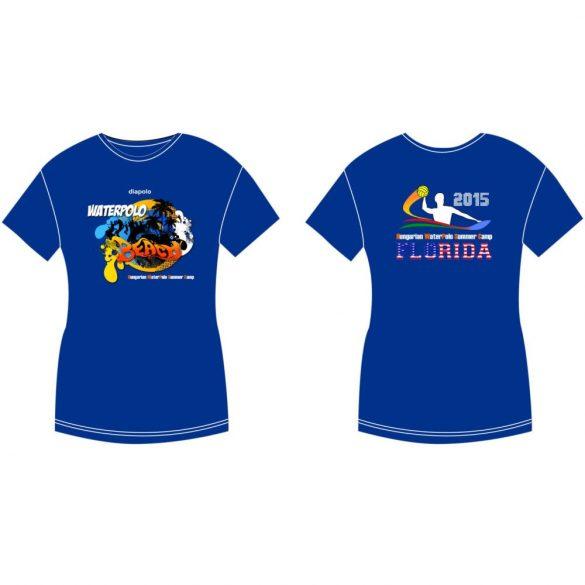Damen T-shirt-DiapoloMania Florida beach HWPSC