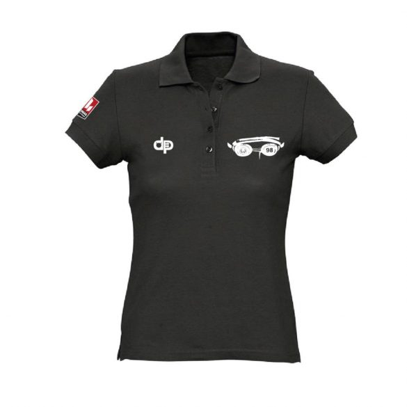 WASPO 98 schwarz weiblich Halsband T-Shirt