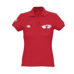 WASPO 98 - Damen Poloshirt rot