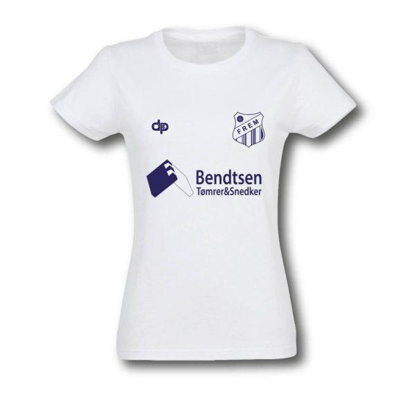 Frem-Damen T-shirt-weiss