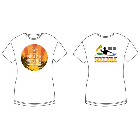 Damen T-shirt-DiapoloMania Malaga HandsUp HWPSC