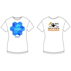 Damen T-shirt - DiapoloMania Malaga CAMP HWPSC