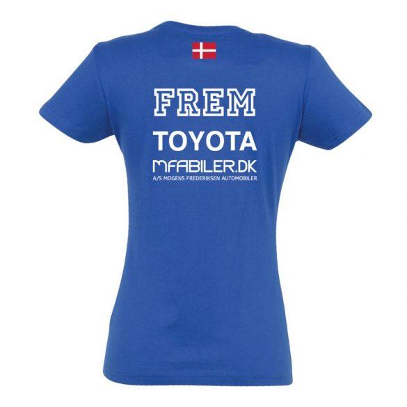 Frem-Damen T-shirt-königsblau
