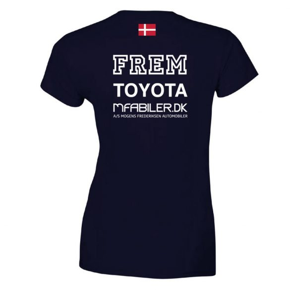 Frem-Damen T-shirt-marine