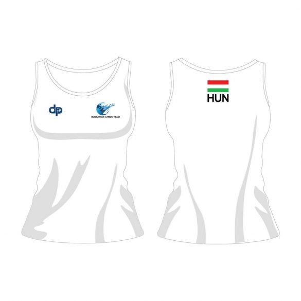 Unterhemd-Ungarische Damen Auswahl-weiss