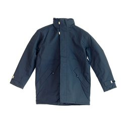 Wintermantel-navy blau