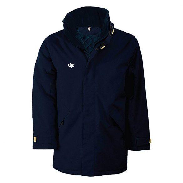 Wintermantel-navy blau