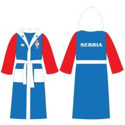 Bademantel-Serbie
