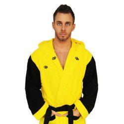 Bademantel - Gelb-schwarz