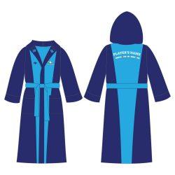 Bademantel-HWPSC1 Light-darkblau robe
