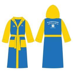 Bademantel-HWPSC2-gelb/blau