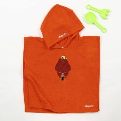 Poncho-Bear-orange
