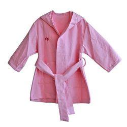 Bademantel mikrofaser-pink
