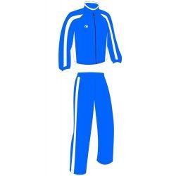 Trainingsanzug - royalblau-weiss Terry