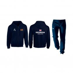 Georgia-Herren trainingsanzug-navy blau