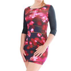 Damen Kleid-Blossom Flower