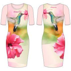 Damen Kleid-Kolibri