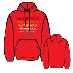 Pullover - WP2 gestickten rot