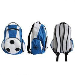Rucksack-Fußball-blau