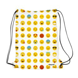 Turnbeutel-Emoticons Gymbag