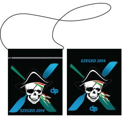 Kartenhülle-2014 Szeged Pirate-schwarz