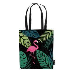 Einkaufstasche-Flamingo