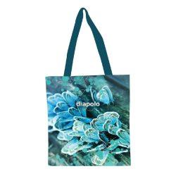 Einkaufstasche-blau Butterfly