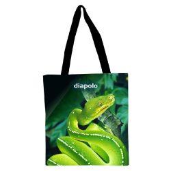 Einkaufstasche - Green Snake