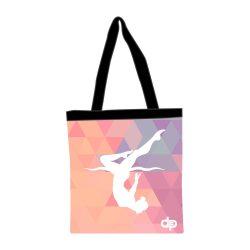 Einkaufstasche-Triangle girl