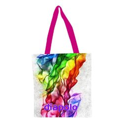 Einkaufstasche-Rainbow Sinus